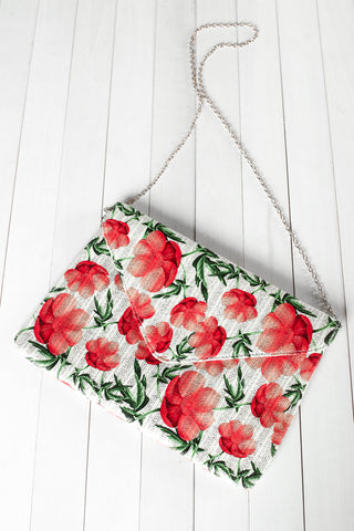 ROSE OVERSIZED 2 WAY CLUTCH