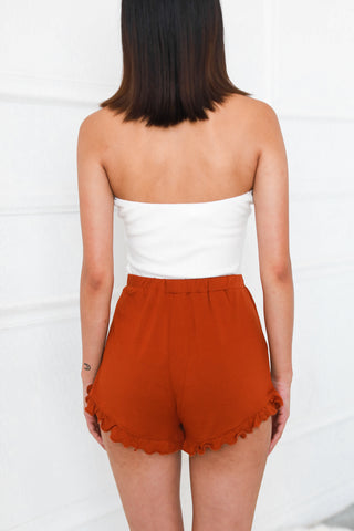 READY TO RELAX COPPER SHORTS
