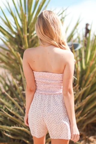 IN THE GARDEN ROMPER