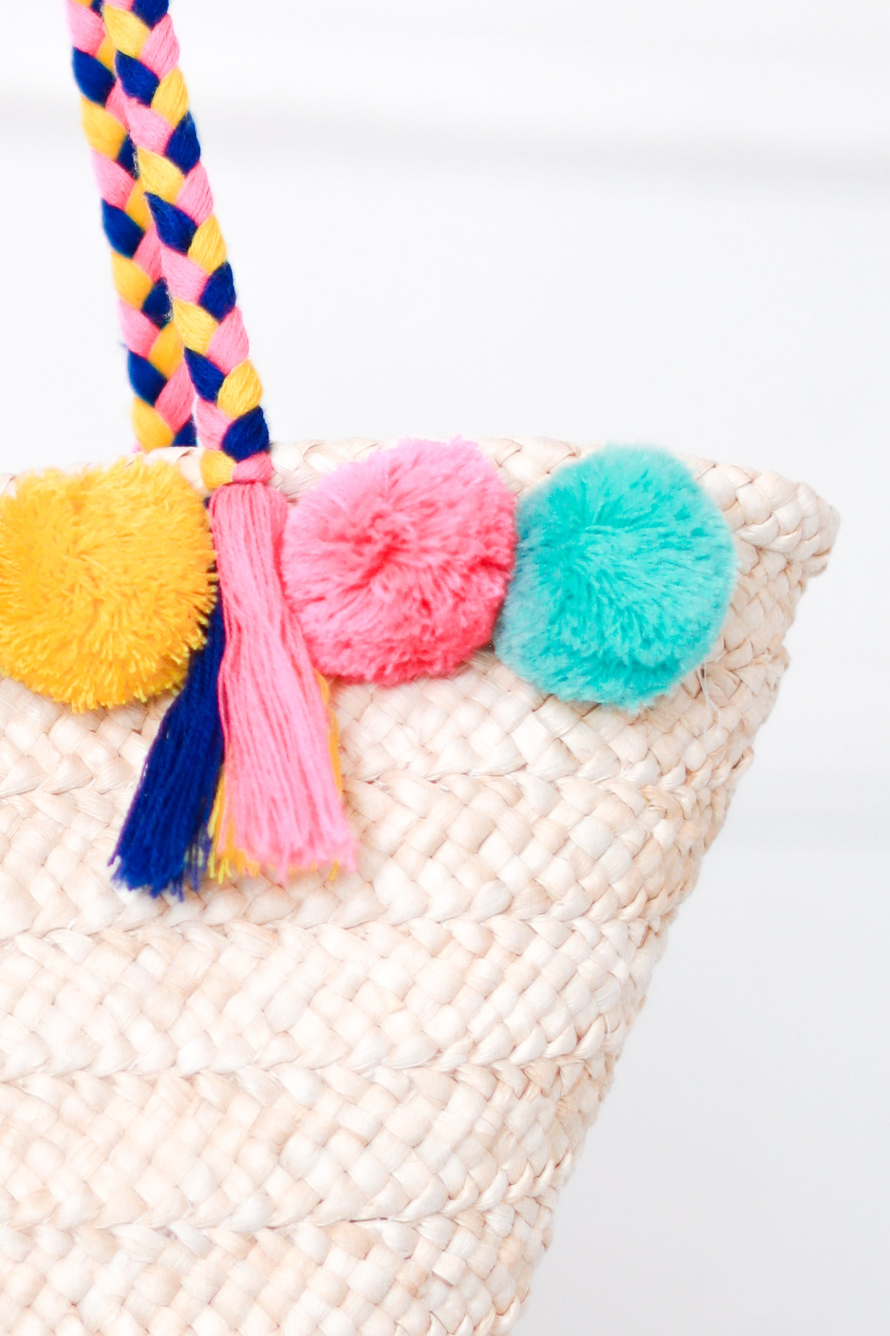 MALIBU POM POM BEACH BAG