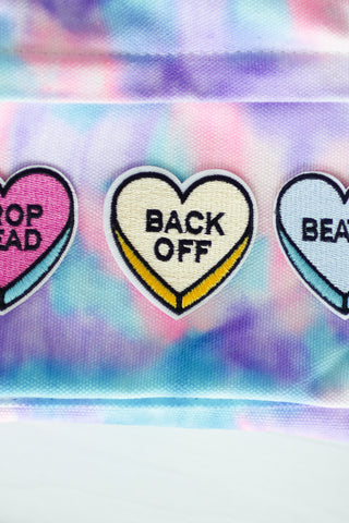 BACK OFF PATCH