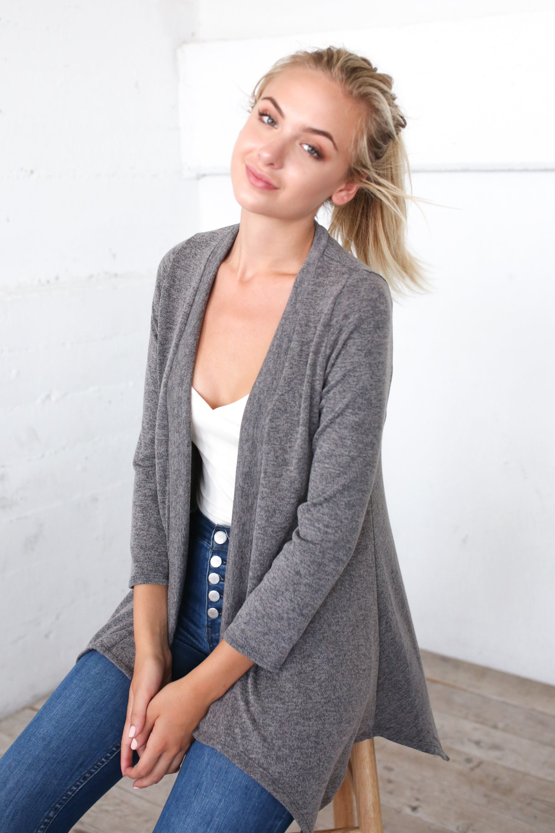 LET'S GET BREEZY CARDIGAN