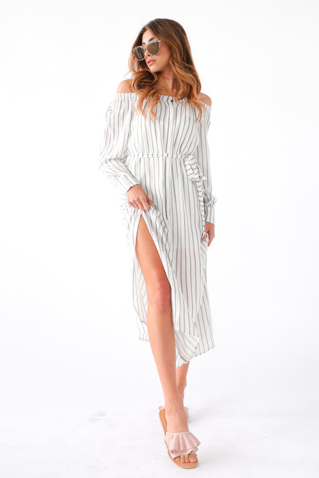 EVERLY OFF THE SHOULDER DRESS