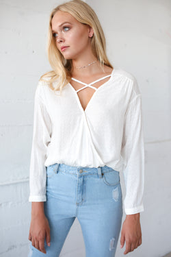 Veruca Criss Cross Top