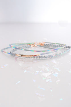HOLOGRAPHIC CHOKER SET
