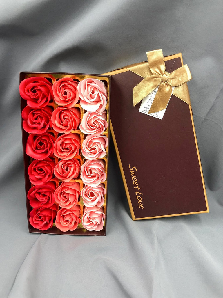 Gift Boxed Soap Flower 18pcs - Kastle-Junction.com