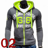Zipper Coat Fashion Hoodies Sportswear