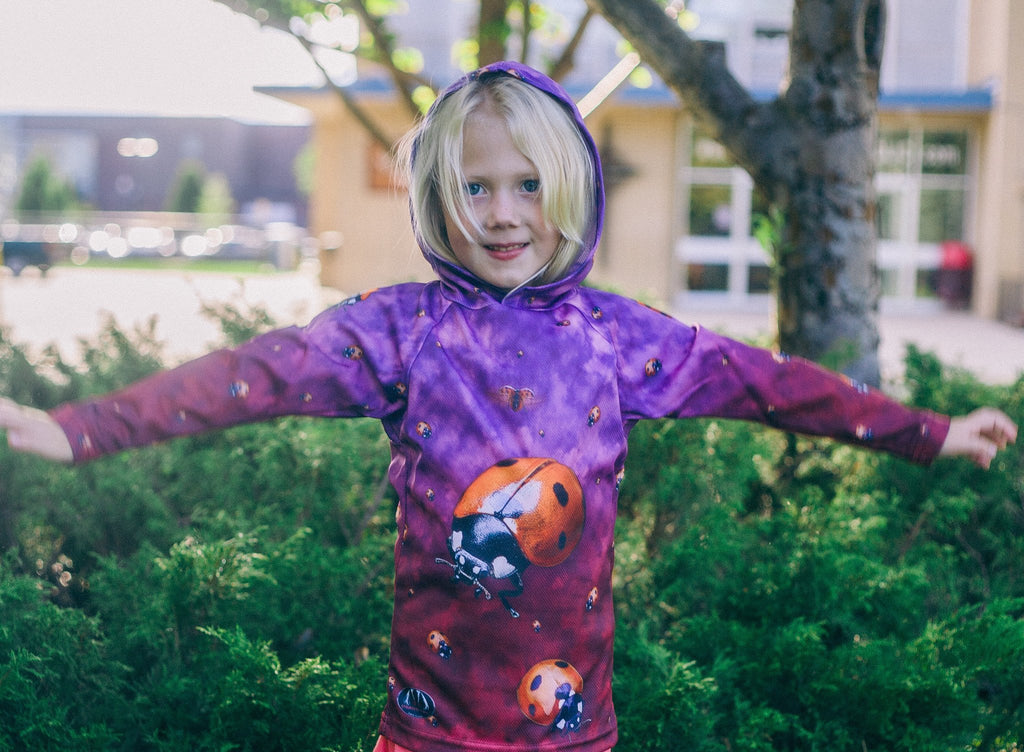 LADYBUG Hoodie Chomp Shirt by MOUTHMAN® - Kastle-Junction.com
