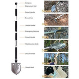 Portable Multitool Tactical Entrenching Tool - Kastle-Junction.com