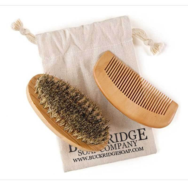 Beard Brush and Comb Set - Kastle-Junction.com
