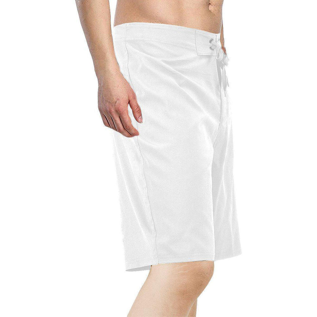 Ice Lolly Drip White Mens Board Shorts - Kastle-Junction.com