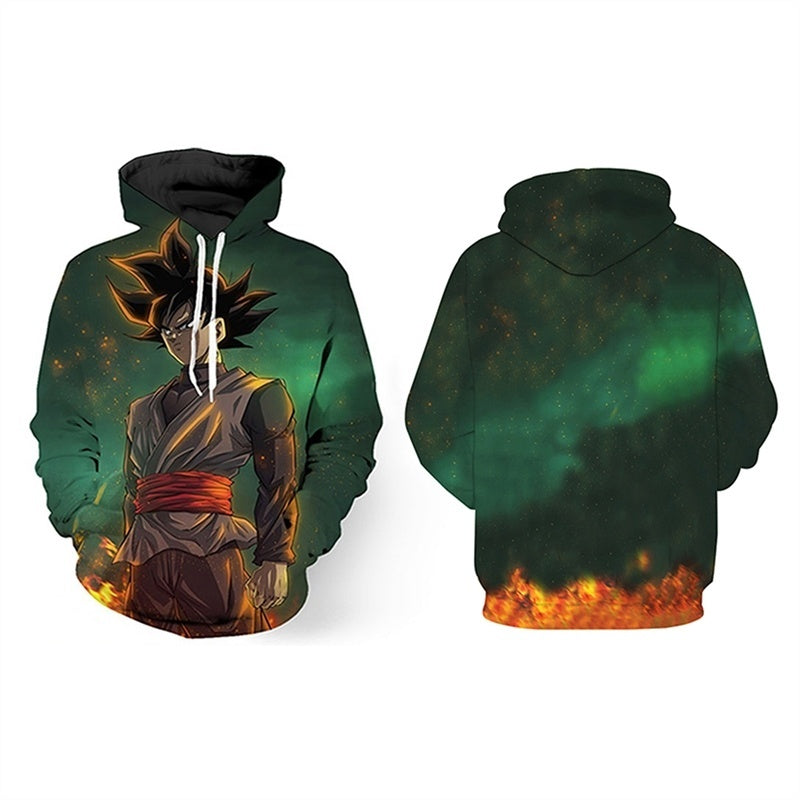 Anime Dragon Ball Z 3D Printed Goku Fashion Hip Hop Unisex Hoodies Pullovers S-5XL - Kastle-Junction.com