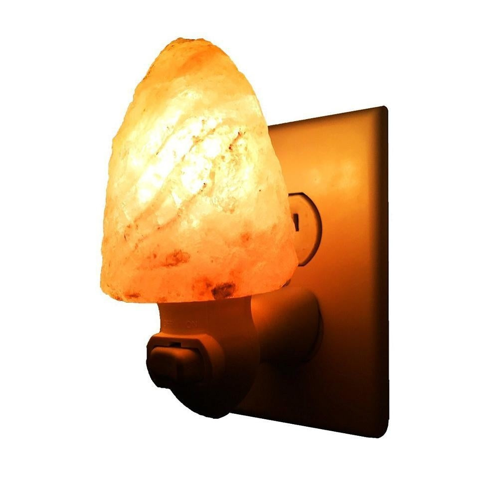 Natural Himalayan Salt Night Lamp - Kastle-Junction.com