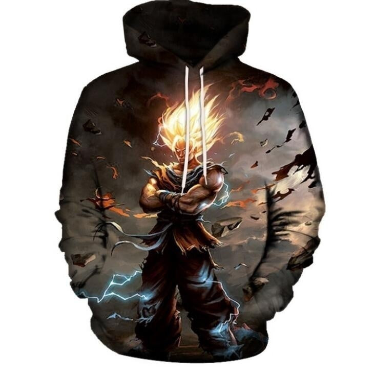 15 style Japanes anime Dragon Ball Z Super and Naruto Printing Hoodies SweaterShirt--Our Product Is Asian Size Please Choose 1-2 - Kastle-Junction.com