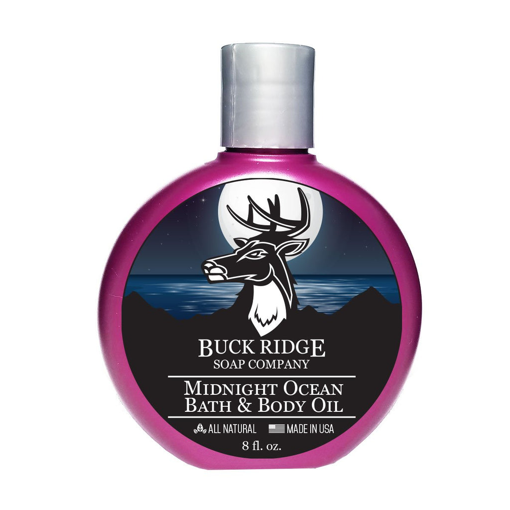 Midnight Ocean Bath and Body Oil - Kastle-Junction.com