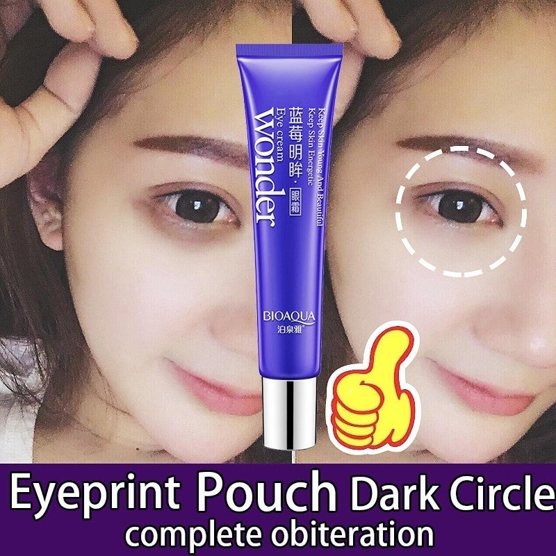 1PC BIOAQUE Anti-aging Anti-Wrinkle Dark Circle Remover Moisturizer Eye Cream - Kastle-Junction.com