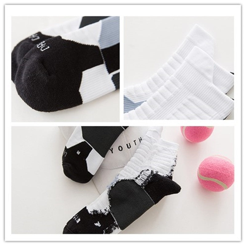 New Anti-sweat Thickened Towel Bottom Breathable Socks - Kastle-Junction.com