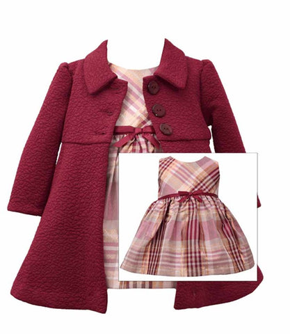 Coat And Dress Set