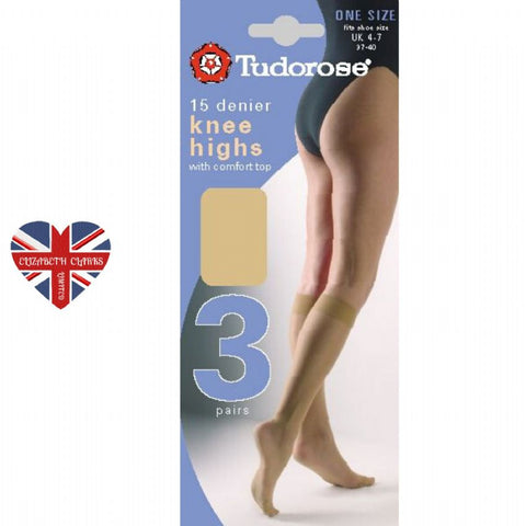 Tudorose Knee High 3 Pack