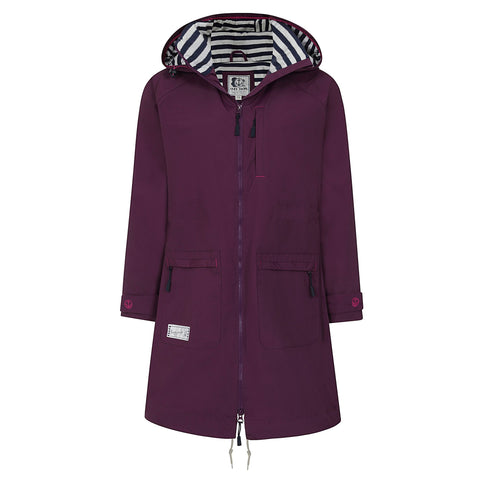 Lazy Jacks Long Waterproof Jacket Twilight