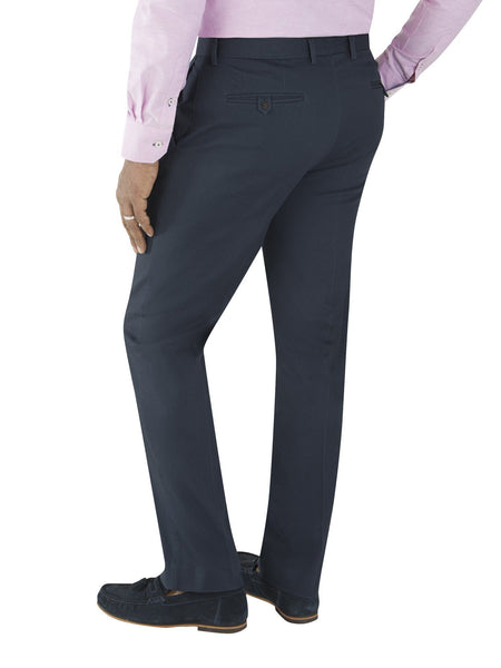 Tailored Chino Trouser  Navy