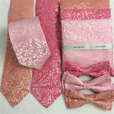 Floral Wedding Ties and Bows | Pinks | by Zazzi