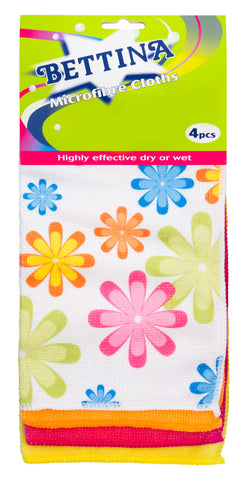 Microfibre Cloth 4 Pack