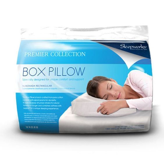 Box Pillow | Premier Pillow | Sleepworks