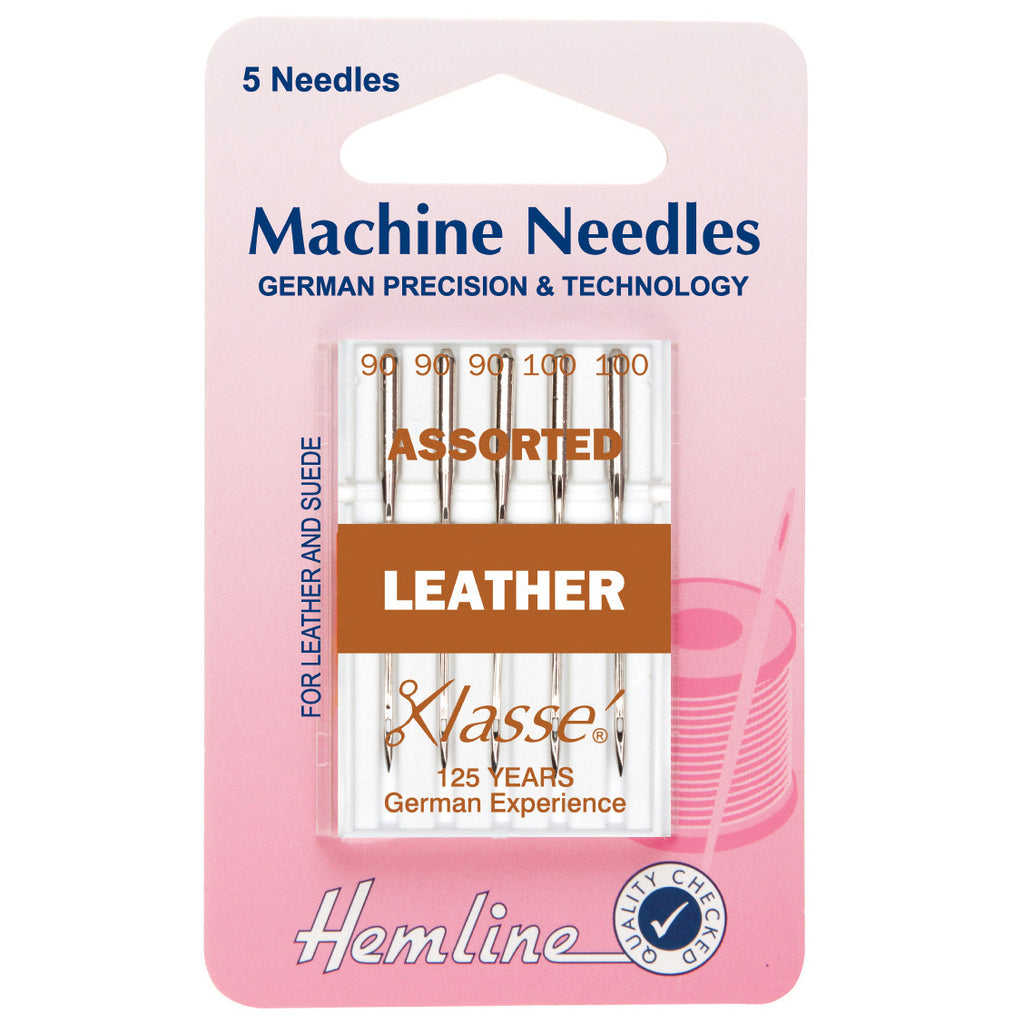 Leather Assorted Machine Needles