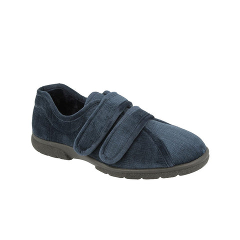 Mens House Velour Shoes Hamilton Navy