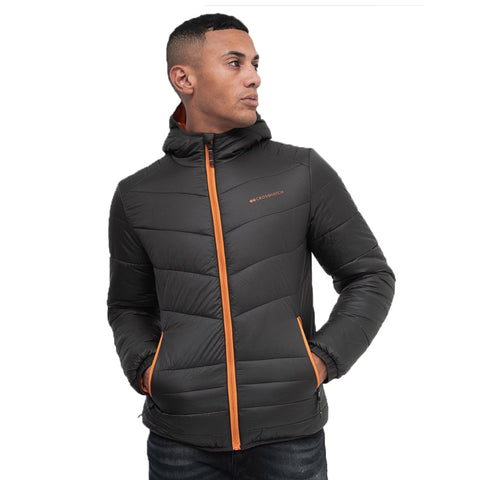 Cross Hatch Mens Jacket Black