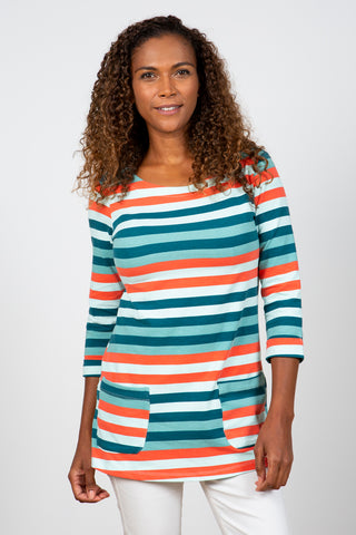 Coastal Tunic Stripe