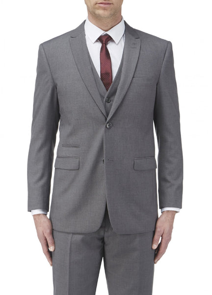 Grey Tailored Suit available in 2 or 3 piece with mix and match sizes