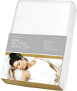 Single Bed Quilted Mattress Protector