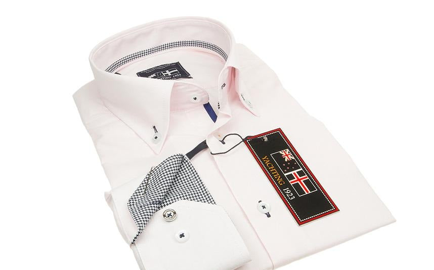 Yachting 1923 Baby Pink Easy Line Mens shirt