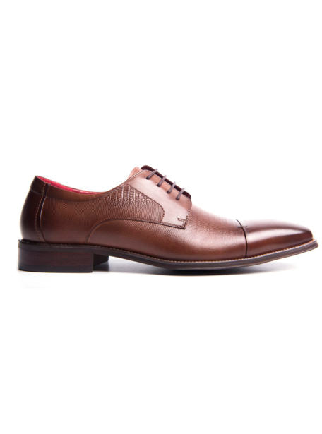 Dark Brown Lace Up Shoe - Dice Ainsley Chestnut