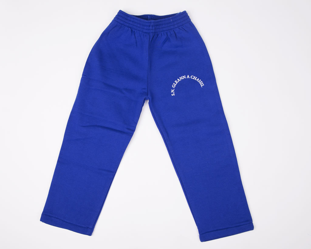Glencastle N.S Royal Blue School Fleece Jog Bottom