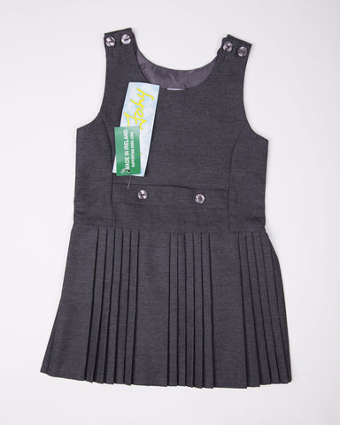 Grey School Pinafore