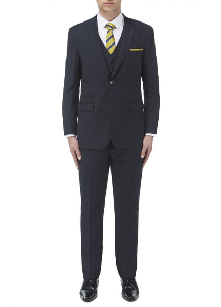 Navy Tailored Suit available in 2 or 3 piece with mix and match sizes