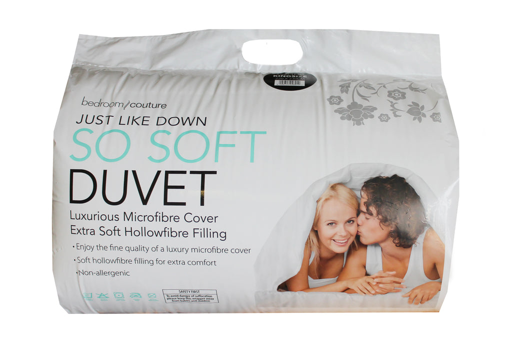 King Duvet 15 tog Just Like Down So soft