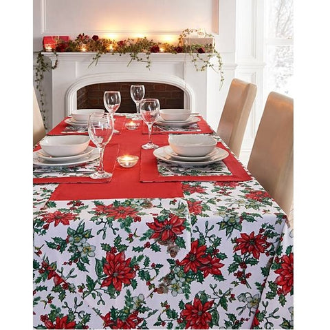 Christmas Table Cloth Seats 4 People