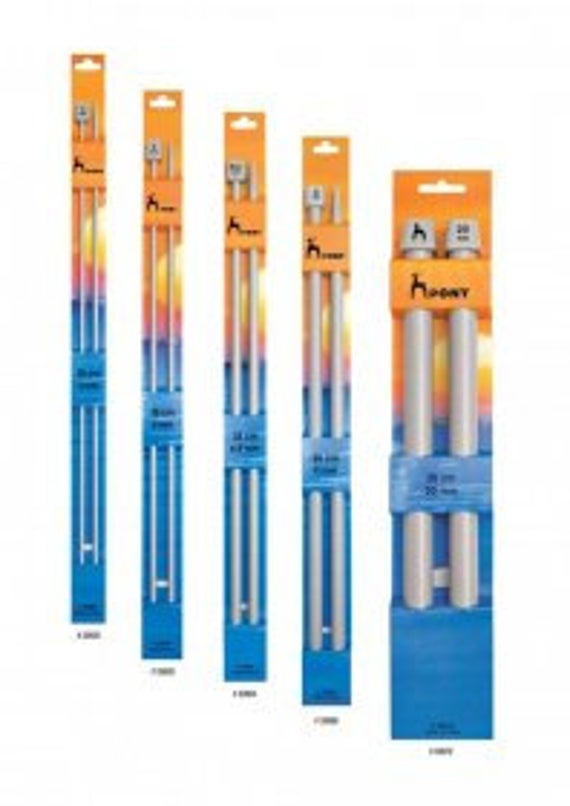 Knitting needles  - metal | Various sizes | Single Point