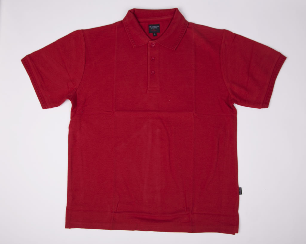 Polo Shirts | Short Sleeve |  Red