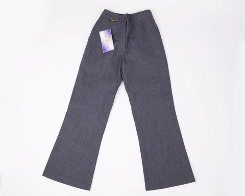 Boys school trouser  - half elastic waist - Grey