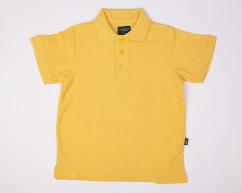 Polo Shirts | Short Sleeve |  Yellow