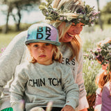 Gray TCHIN TCHIN Sweat |KIDZ|