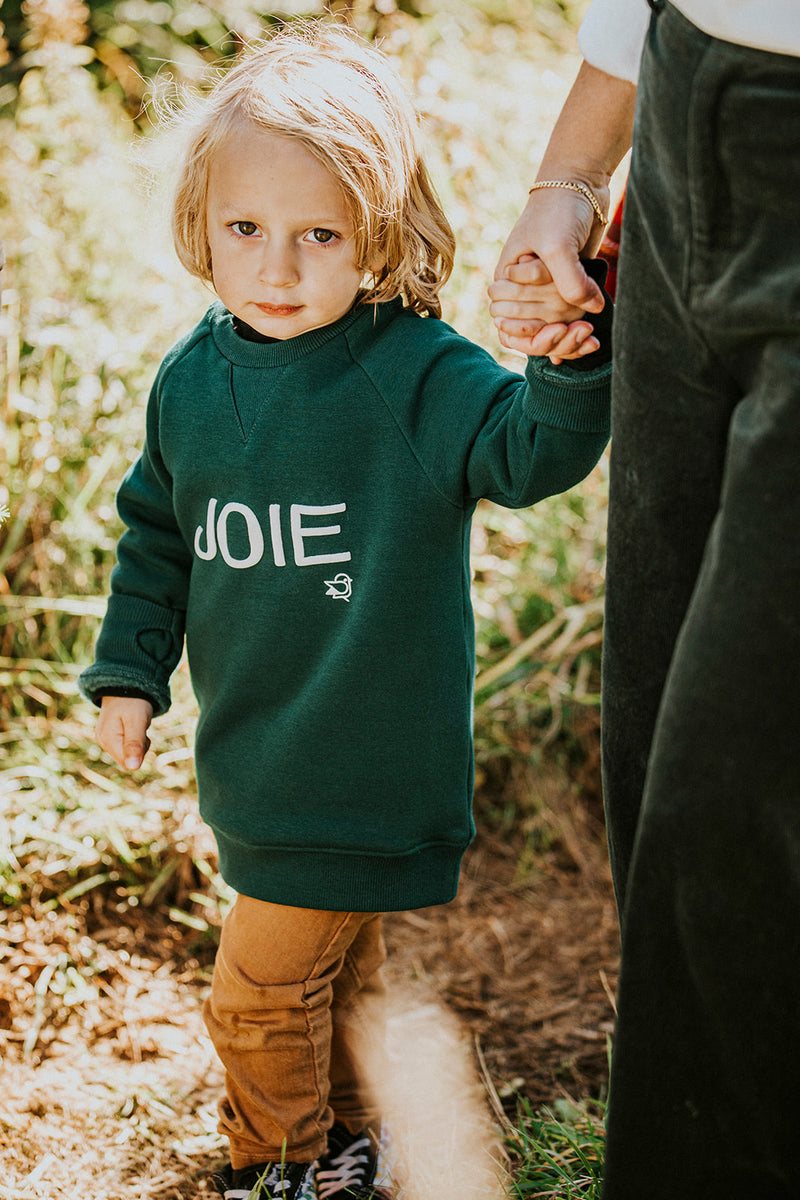 Pine Green Joie Sweat |Kidz|