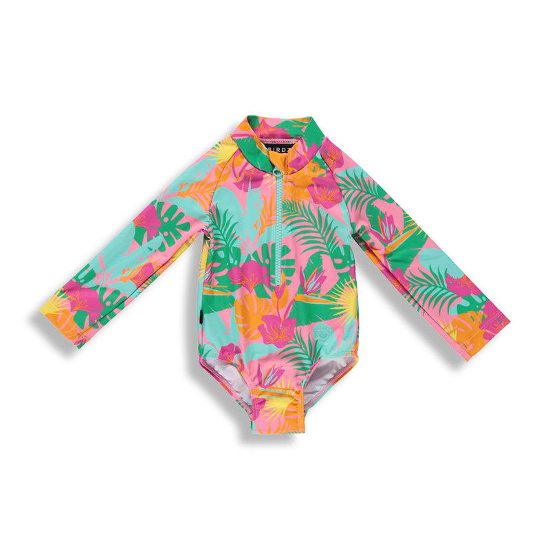Pink Jungle |Surfer Swimsuit| Baby