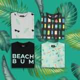 BEACH BUM TEE | BLACK |