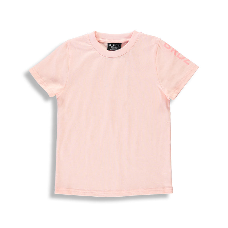 GIRLZ BASIC TEE | PEACH |
